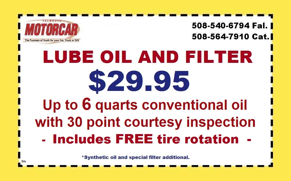 Oil change coupons quincy ma